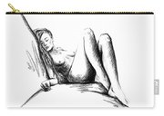 Nude Female Figure Carry-all Pouch