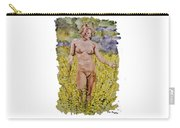 Nude In Field Carry-all Pouch