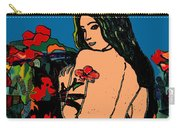 Nude In Garden Carry-all Pouch