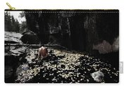 Nude In Monochrome  Leaf Pool Carry-all Pouch