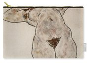 Nude Lying Down Carry-all Pouch
