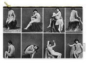 Nude Posing, C1875 Carry-all Pouch