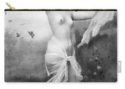 Nude With Butterflies Carry-all Pouch