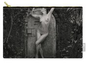 Nude Woman And Doorway Carry-all Pouch