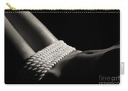 Nude Woman Body And Ropes Carry-all Pouch