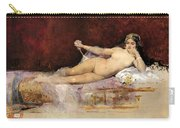 Nude Woman On An Ottoman Carry-all Pouch