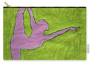 Pink Nude Yoga Girl Carry-all Pouch