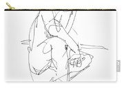 Nude_male_drawing_29 Carry-all Pouch