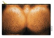 Nudist - Just Cheeky Carry-all Pouch by Mike Savad