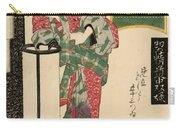 Numazu Senju Of The Sakaya 1823 Carry-all Pouch