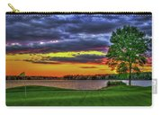Number 4 The Landing Reynolds Plantation Golf Art Carry-all Pouch