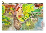 Nuremberg, Hand Drawn Picture Carry-all Pouch