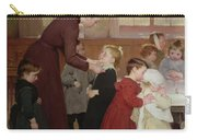 Nursery School Carry-all Pouch by Hneri Jules Jean Geoffroy