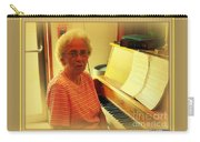 Nursing Home Piano Player Carry-all Pouch