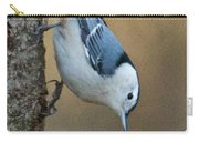 Nuthatch In Profile Carry-all Pouch