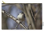 Nuthatch On Perch Carry-all Pouch