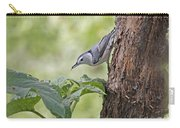 Nuthatch On The Move Carry-all Pouch