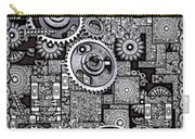 Nuts And Bolts Carry-all Pouch by Eleni Mac Synodinos