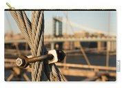 Nuts And Bolts Of The Brooklyn Bridge Carry-all Pouch