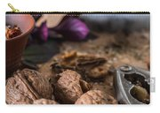Nuts And Spices Series - Six Of Six Carry-all Pouch
