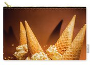 Nuts Over Ice-cream. Birthday Party Background Carry-all Pouch