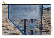 Nv-142 Old Spanish Trail Mountain Springs Pass Carry-all Pouch