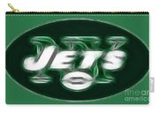 Ny Jets Fantasy Carry-all Pouch by Paul Ward
