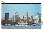 Ny Skyline And Chelsea Piers Carry-all Pouch