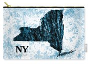 Ny State Map  Carry-all Pouch