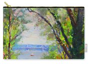 Nyack Park A Beautiful Day For A Walk Carry-all Pouch by Ylli Haruni