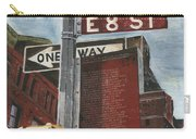 Nyc 8th Street Carry-all Pouch by Debbie DeWitt