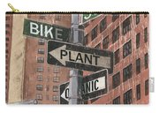 Nyc Broadway 2 Carry-all Pouch