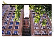 Nyc Building With Tree Overhang Carry-all Pouch