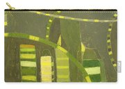 Nyc In Deep Green Carry-all Pouch