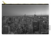 Nyc Sunset Bw Carry-all Pouch