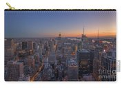 Nyc Sunset Carry-all Pouch