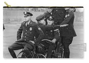 Nypd Motorcycle Stunts Carry-all Pouch