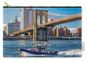 Nypd On East River Carry-all Pouch