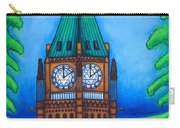 O Canada Carry-all Pouch by Lisa  Lorenz