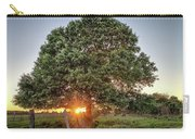 Oak At Sunset Carry-all Pouch