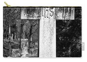 Oak Hill Cemetery Crosses #2 Carry-all Pouch
