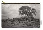 Oak In Rock Field Carry-all Pouch