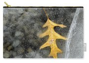 Oak Leaf In Ice Three  Carry-all Pouch
