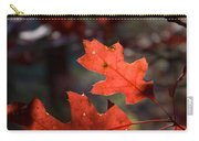 Oak Leaves Aglow Carry-all Pouch