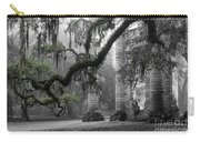 Oak Limb At Old Sheldon Church Carry-all Pouch