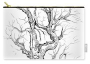 Oak Tree Abstract Study Carry-all Pouch