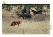 Oak Tree And The Cows Carry-all Pouch