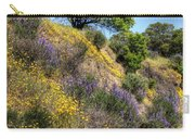 Oak Tree And Wildflowers Carry-all Pouch