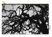Oak Tree In Winter Detail - Amador County, California Carry-all Pouch