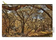 Oak Trees Along Live Oak Canyon Road IIi - Autumn Colors Carry-all Pouch